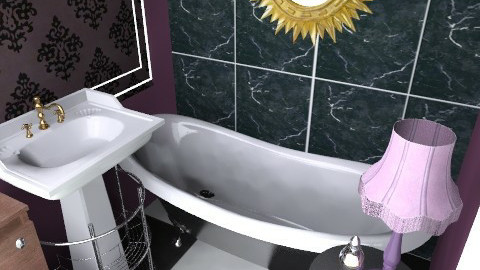 my actual bathroom - Eclectic - Bathroom - by lisaclarkuk