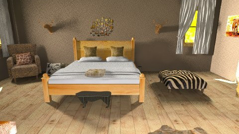 Western Bedroom - Rustic - Bedroom - by jessicalove