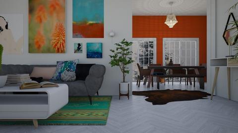 design 7 - Living room - by Starry Eyed Loser