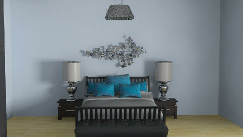 blue Room - Bedroom - by eleesha06