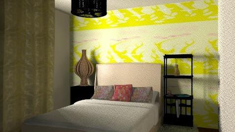 bedroom - Retro - Bedroom - by dacian