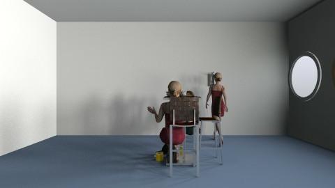 dining room - Classic - Dining room - by naheeda247
