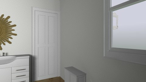 9 Friend bathroom - Vintage - Bathroom - by SarahAPierce
