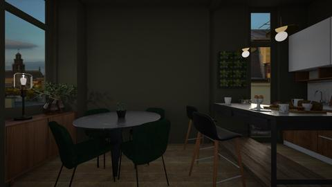 Casa230KitchenAndDining - Classic - Dining room - by nickynunes