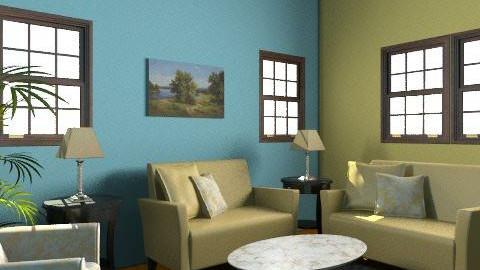 PuertoRico - Retro - Living room - by daisies4u2