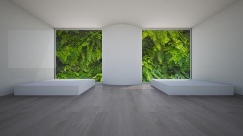 Mini - Minimal - Living room - by _Untitled_