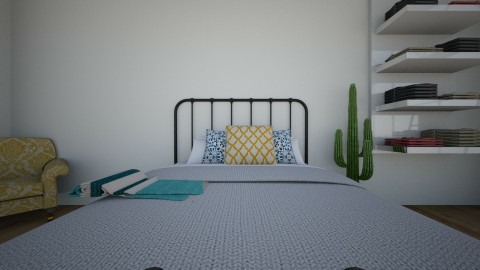 graces cool room - Bedroom - by gracemallon88