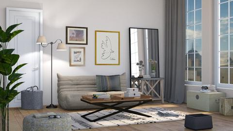 Neutrals - Living room - by Sally Simpson