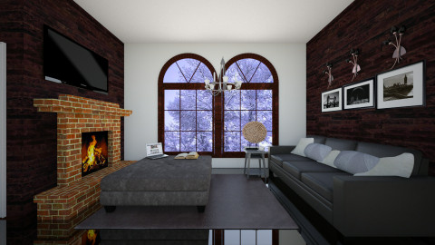 winter - Living room - by candy444