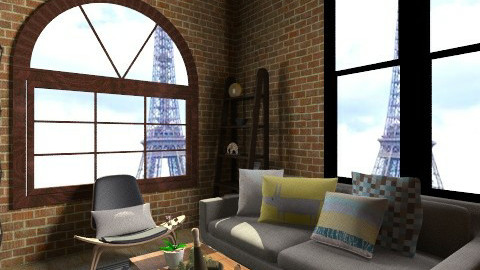 Livingroom - Living room - by Weiting Chien