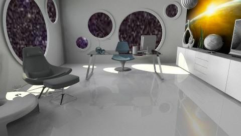futuristic office - Modern - Office - by miadesign