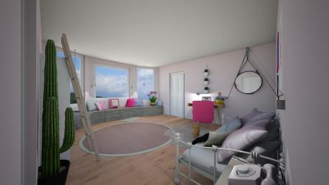 Girls Room - Bedroom - by carolinedecorates