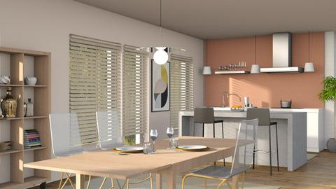 Monsungatan Dining Area - Modern - Dining room - by Sally Simpson