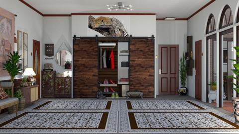 hallway 01 - by nat mi