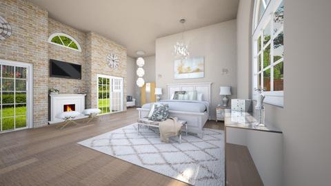 master suite - Bedroom - by areejkwaik