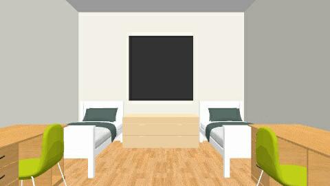 Dorm room - by andiavie