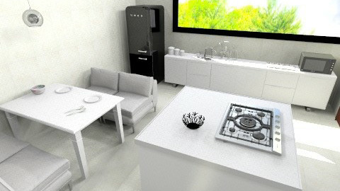 Cocina - Minimal - Kitchen - by siso_4