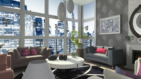 Drawing room - Modern - by milyca8