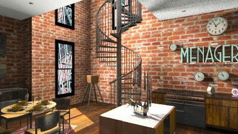 NYC - Classic - Kitchen - by amandafern