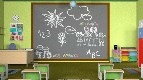 aula - Classic - Kids room - by ATELOIV87