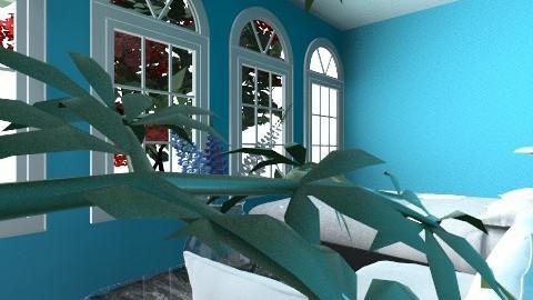 feeling blue - Bedroom - by Ace Bee