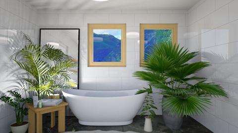 Scandinavian Bathroom - Bathroom - by NagromLiart
