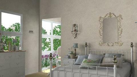Provence - Minimal - Bedroom - by du321