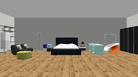 bedroom authentic - Modern - Bedroom - by tomcruise