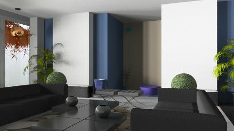 new office lobby - Modern - Office - by monicasabile