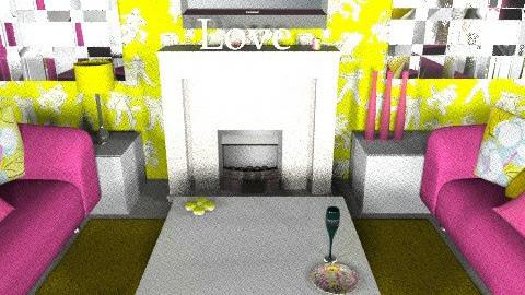 spring living - Feminine - Living room - by glamour princess