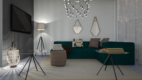 1636 - Living room - by Riki Bahar Elbaz