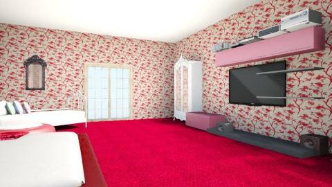 Bedroom - Feminine - Bedroom - by ashlii95