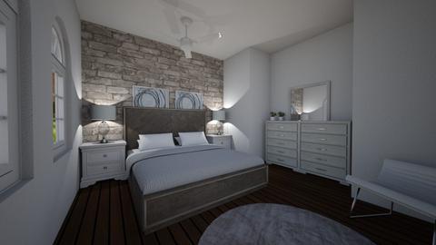 Neutral Bedroom - Minimal - Bedroom - by Helaut
