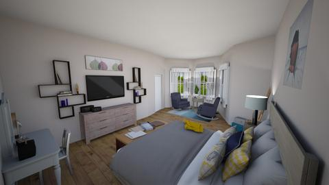 Comfy Master Bedroom - Classic - Bedroom - by elizabethwatt16