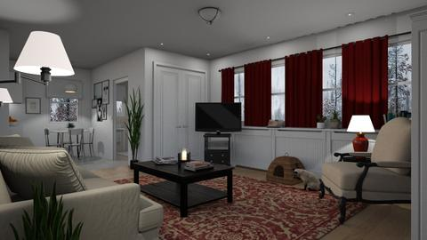 Green Grove - Living room - by GraceKathryn