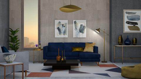 Mid Century Living - Modern - Living room - by Apartment19