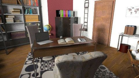 Office - Glamour - Office - by sally89