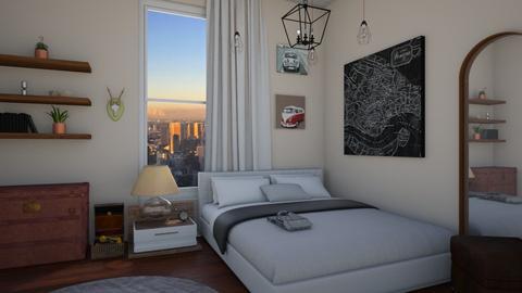 apartment room idea - Vintage - Bedroom - by cesar_0409