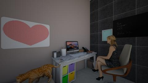 work space - Feminine - Office - by AmySargeant2402