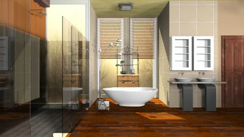 Chocolate Spa - Classic - Bathroom - by deleted_1513655778_Valencey14
