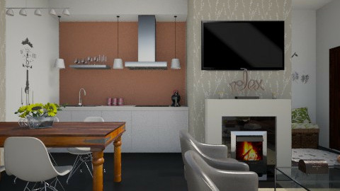 One bedroom apt - Eclectic - by martinabb