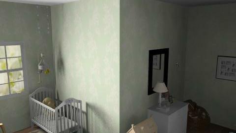 green nursery - Classic - Kids room - by looper32195