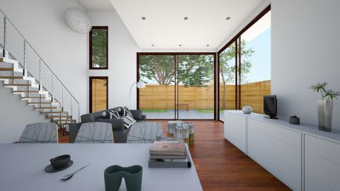 bachelor - Living room - by akime