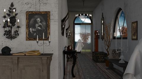 Halloween Hallway - by Sally Simpson