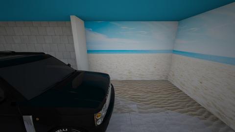 Garage on the beach - by Darren Lin