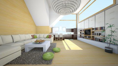 hiuhiu - Living room - by Elvira  Elvira