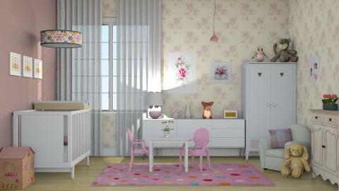 Quarto BABY - Kids room - by Alecio
