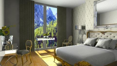goldieee - Bedroom - by rosiedoll