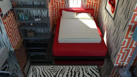 random  - Modern - Bedroom - by nithiaChackochen