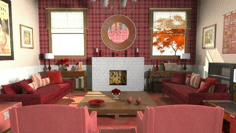 Hunting Lodge - Country - Living room - by camilla_saurus
